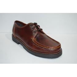 MOLINA: Zapato de cordones de piel
