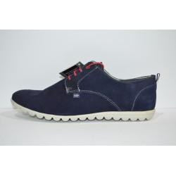 SOLER & PASTOR: Zapato de piel de serraje.