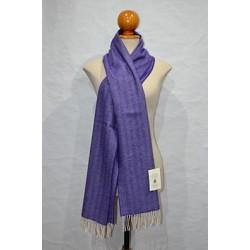 Bufanda de Grazalema espiga violeta