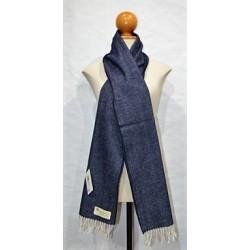 Bufanda de Grazalema espiga azul